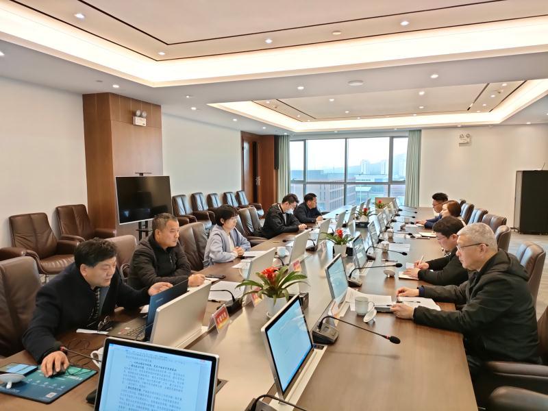 合肥市建筑工程协会施工特级专委会2021年首次工作例会